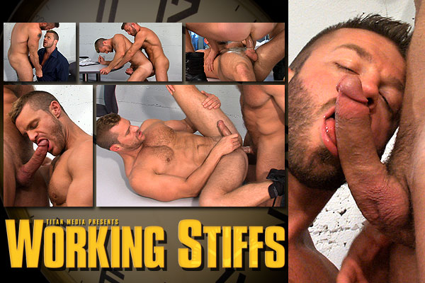 Working Stiffs: Scene 3: Hunter Marx & Landon Conrad