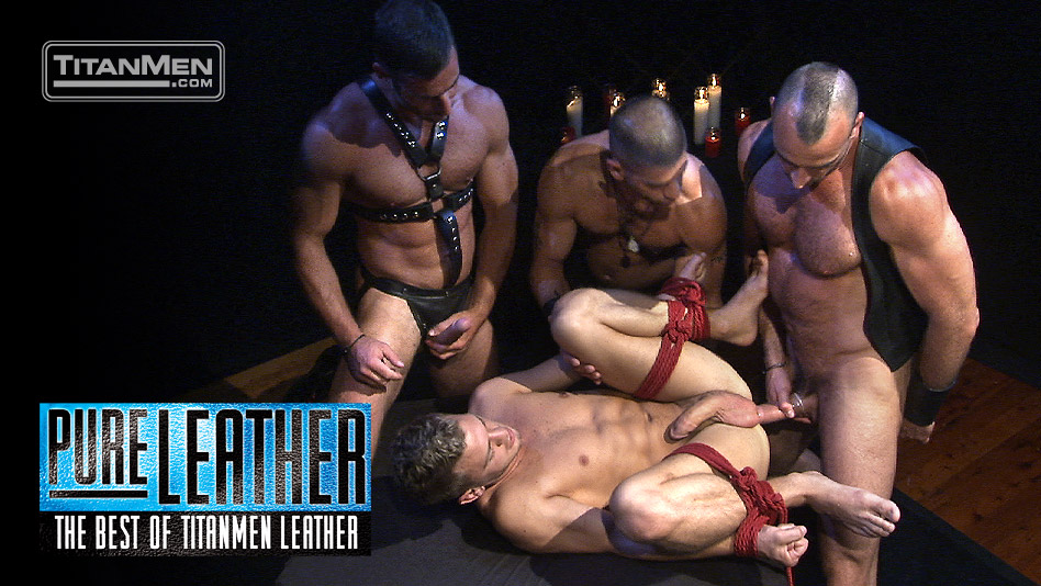 Pure Leather: The Best of TitanMen Leather