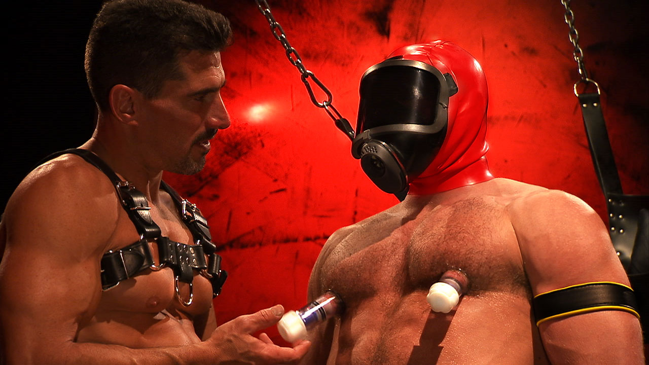 TitanMen Exclusive David Anthony and Shay Michaels - Full Fetish: The Men of RECON Scene 3