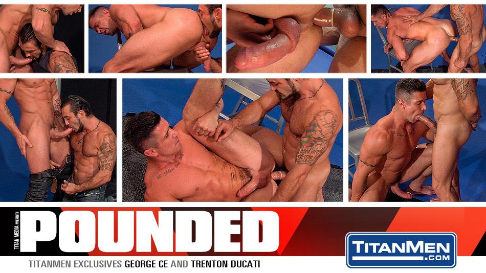 Pounded: Scene 1: George Ce & Trenton Ducati