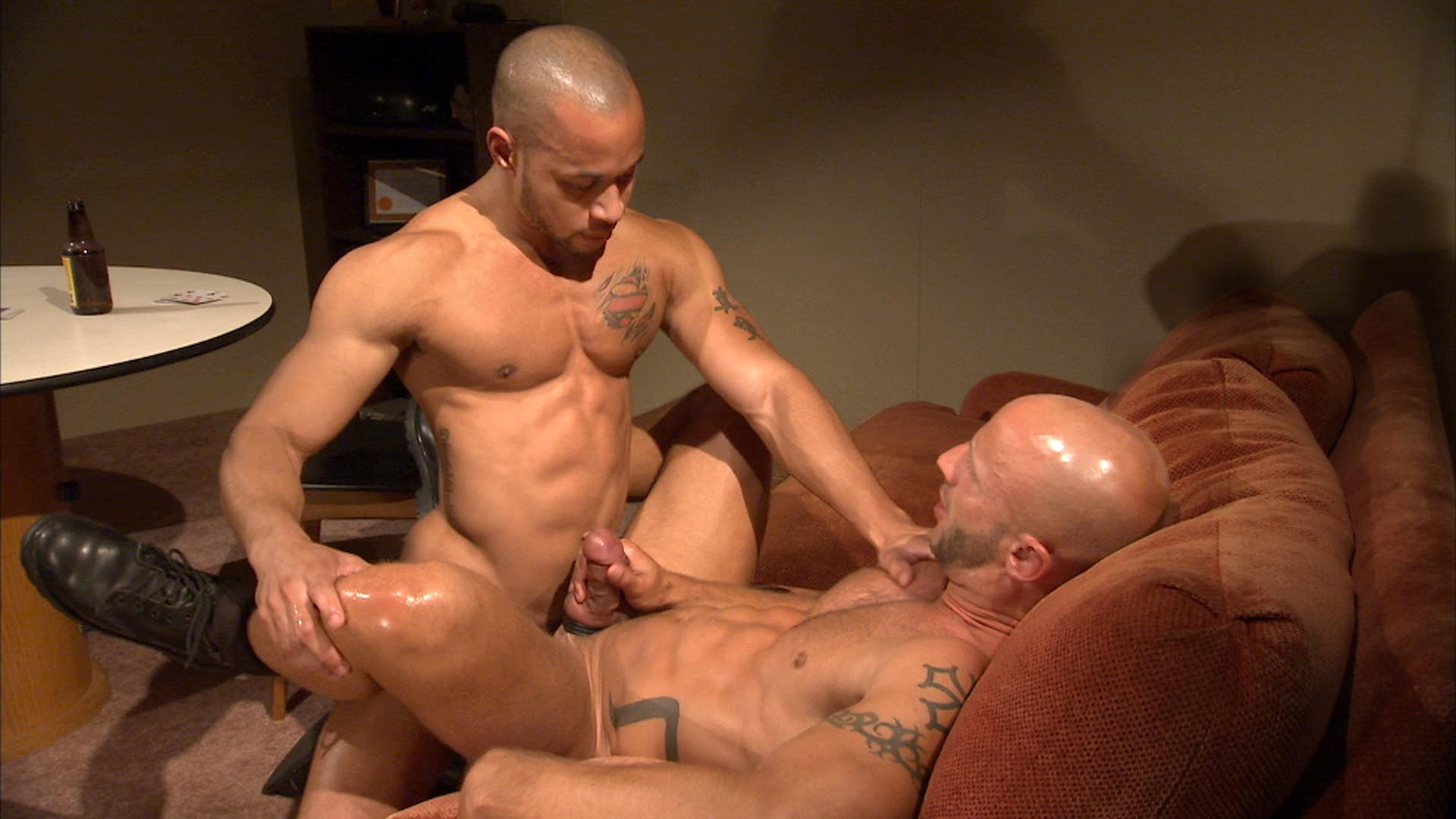 TitanMen Exclusive Aymeric DeVille with Lawson Kane - Game On! Scene 2