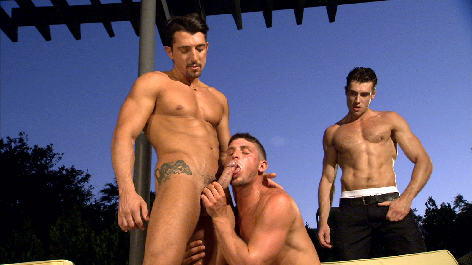 Jimmy Durano, Jayden Grey and Adrian Long - Blind Spot - Scene 2