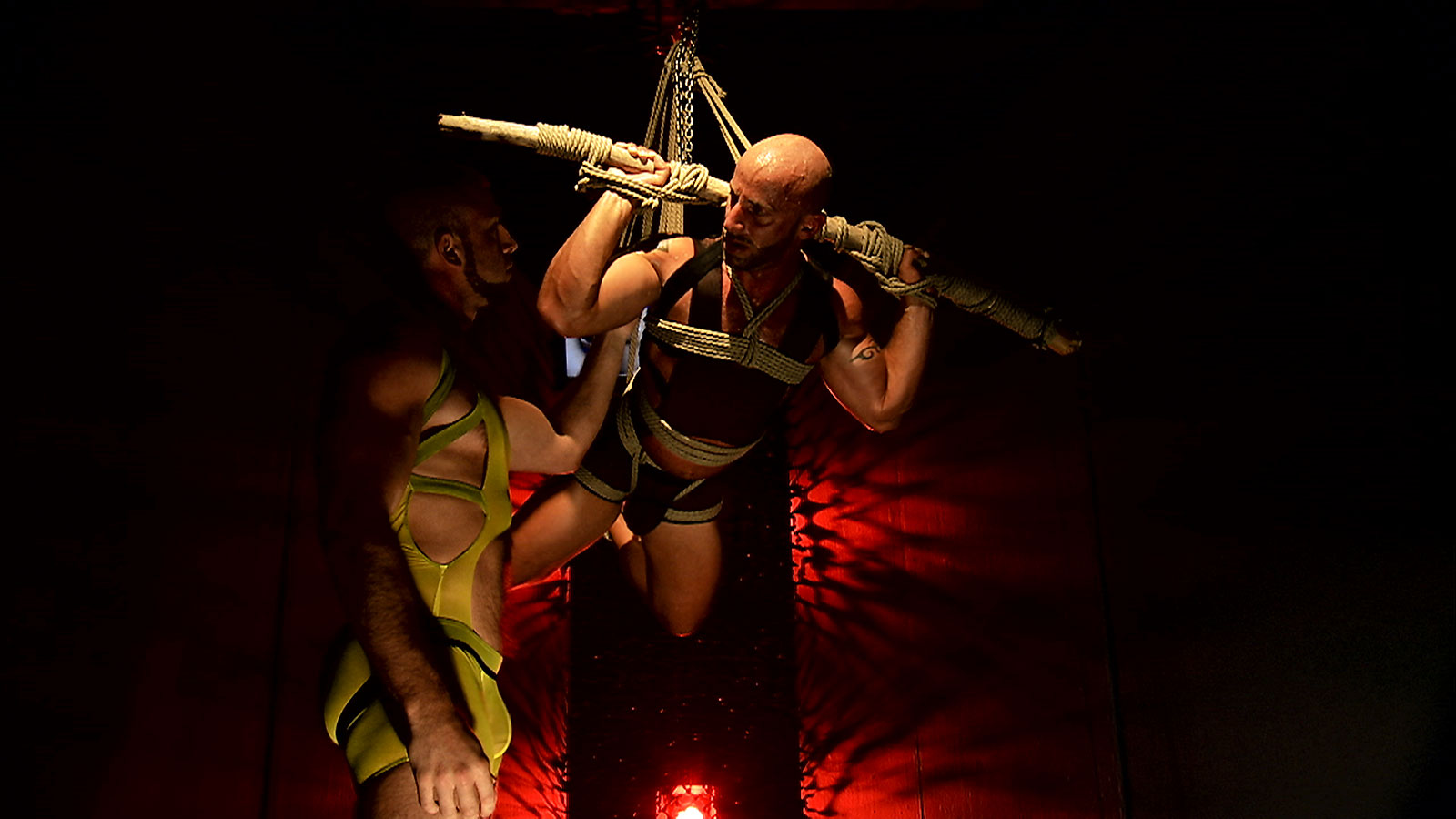 TitanMen Exclusives Aymeric DeVille, Jessy Ares, Hunter Marx and Francois Sagat -- Incubus -- Scene 3