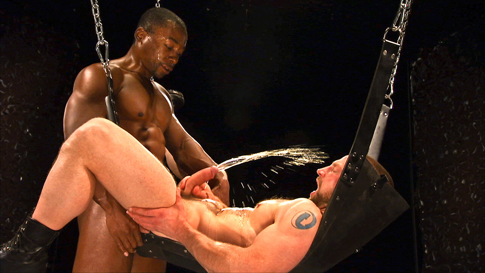 Deven James and Adam Herst - Leather and Piss - Scene 2