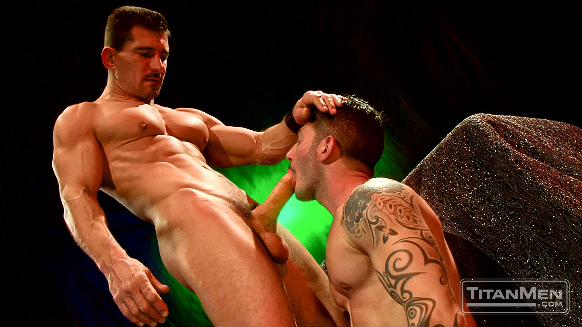 TitanMen exclusive David Anthony with Johnny Hazzard - Head Trip - Scene 3