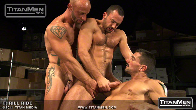Aymeric DeVille, Philippe Ferro and David Anthony - Thrill Ride Scene 1