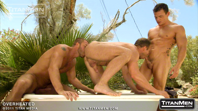 Hunter Marx, Ethan Hudson and Cavin Knight - Overheated Scene 1