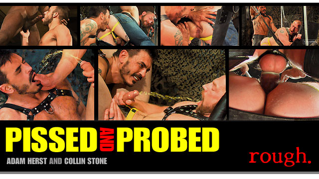 Pissed and Probed: Scene 1: Collin Stone & Adam Herst