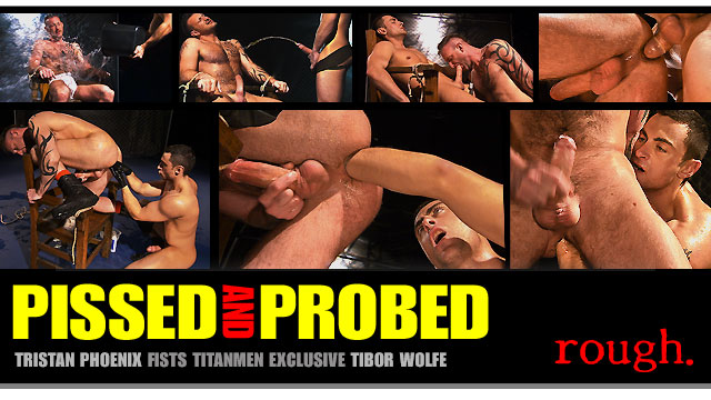Pissed and Probed: Scene 2: Tibor Wolfe & Tristan Phoenix